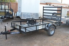 2016 Ziem All Metal 5'X8' Utility Trailer in Alamogordo, New Mexico