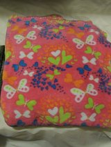 pink mutil colored butterfly blanket in Lawton, Oklahoma