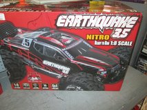 EARTHQUAKE NITRO 3.5 GAS POWERED RC CAR 1/8 scale in Cherry Point, North Carolina