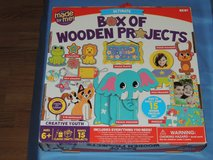 NIP wooden projects art kit in Lawton, Oklahoma