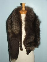 Russian Silver or Blue Fox Fur Stole in Batavia, Illinois