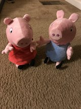 Giggling Peppa and George plush in Plano, Texas
