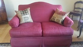 Loveseat and couch in Palatine, Illinois