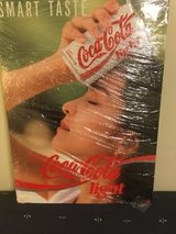 Collectible Coke light poster  (15-20 years old) in Okinawa, Japan