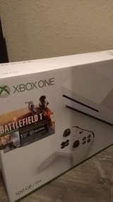 xbox one s 500gb with battlefield 1, brand new in Las Cruces, New Mexico