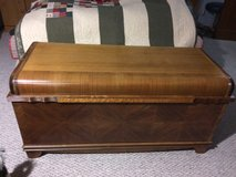Vintage Blue Bird Cedar Chest in Fort Leonard Wood, Missouri