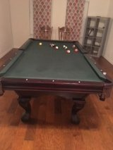Regulation Pool Table in Spring, Texas