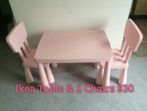 Ikea Table and 2 Chairs in Kingwood, Texas