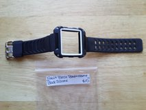 Fitbit blaze band black and white silicone in Fort Campbell, Kentucky