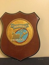 Vintage 83rd Wing Plaque wooden in Okinawa, Japan