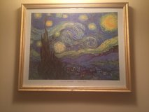 Starry Night Van Gogh Print in Okinawa, Japan