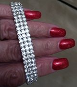 RHINESTONE STRETCH BRACELET in Lakenheath, UK