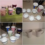 18 assorted mugs cups in Ramstein, Germany