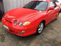 2001 Hyundai Tiburon in Camp Humphreys, South Korea