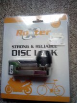 Motorbike lock £10 new and sealed. Click on for picture in Lakenheath, UK