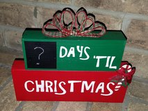 Wood Block Count Down in Conroe, Texas