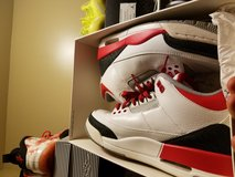 Retro 3 fire reds in Lackland AFB, Texas
