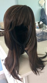 brunette heat resistant synthetic wig in Camp Lejeune, North Carolina