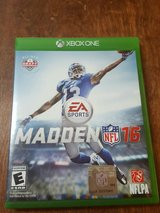 Madden NFL 16 Xbox One in Fort Campbell, Kentucky