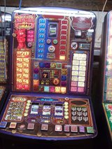 devil of a deal fruit machine in Lakenheath, UK