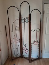 Whimsical Wrought Iron Room Divider! in Conroe, Texas