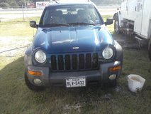 2002 jeep liberty 4x4 in Navasota, Texas