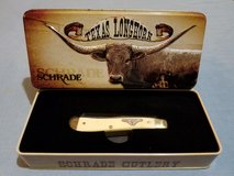 Trapper - Schrade Old Timer Texas Longhorn Series Pocket Knife & Tin 94LHT in Leesville, Louisiana