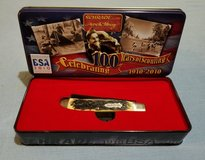Pro Trapper - Schrade Uncle Henry Boy Scouts of America 100th Anniv Pocket Knife & Tin 285UHBSAT in Leesville, Louisiana