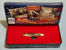 Gambler - Schrade Uncle Henry Boy Scouts of America 100th Anniv Series Pocket Knife & Tin 707UHBSAT in Leesville, Louisiana
