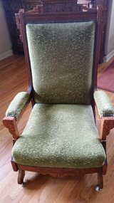 Antique rocking chair in Wheaton, Illinois