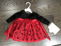 Baby girl Christmas dress NWT in Naperville, Illinois