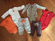 2 3-piece Carter's outfits in Bolingbrook, Illinois