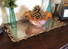Large Antique Ornate Vanity Mirror Tray in 29 Palms, California