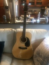 Acoustic guitar and case in Fairfield, California