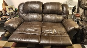 Leather Couch & Love Seat in Stuttgart, GE