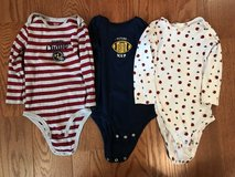 Football long sleeve onsies in Lockport, Illinois