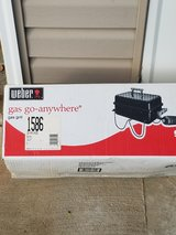 Weber Gas portable grill in St. Charles, Illinois