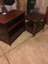 tv stand and table in Sandwich, Illinois