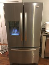 Whirlpool Gold Stainless Steel Refrigerator in Dover, Tennessee