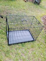 REALLY NICE BLACK STEEL DOGGY CAGE in Cherry Point, North Carolina