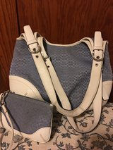Authentic coach purse with wristlet in New Lenox, Illinois
