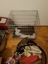 Small dog cage and accessories in Ramstein, Germany