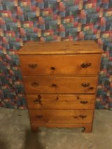 4 draw  wood dresser in Fort Campbell, Kentucky