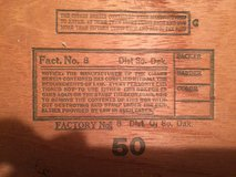 Vintage Western Commerce Specials Cigar Box (no cigars) from South Dakota in Fort Leonard Wood, Missouri