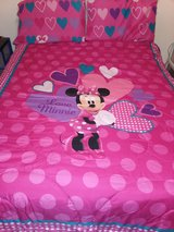 Minnie Mouse comforter set in Sugar Land, Texas