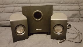 Philips speaker with sub in Lawton, Oklahoma