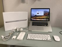 Macbook Pro with accessories and Apple care + in Baumholder, GE