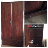 Mahogany Color Armoire Dresser w/Drawer in Kaneohe Bay, Hawaii