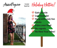 Holiday Hotties with Annie Peguero in Okinawa, Japan