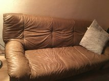 Real Leather Sofa Set in Mannheim, GE